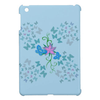 Butterfly Blue iPad Mini Cases