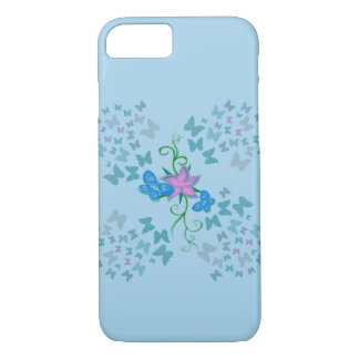 Butterfly Blue iPhone 8/7 Case