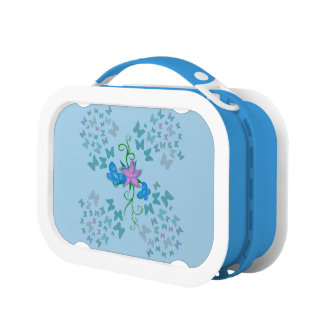 Butterfly Blue Lunch Boxes