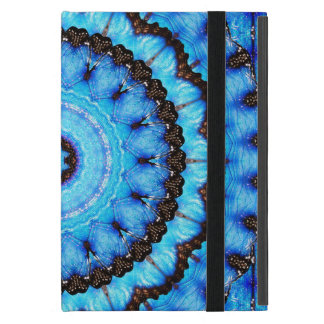 Butterfly Blue Mandala Cover For iPad Mini