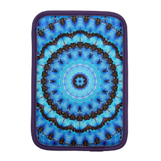 Butterfly Blue Mandala iPad Mini Sleeve