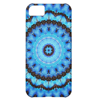 Butterfly Blue Mandala iPhone 5C Covers