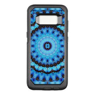 Butterfly Blue Mandala OtterBox Commuter Samsung Galaxy S8 Case