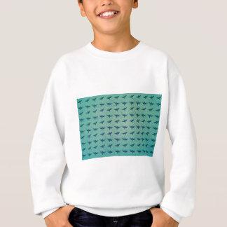 Butterfly blue sweatshirt