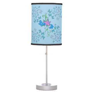 Butterfly Blue Table Lamp