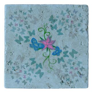 Butterfly Blue Trivet