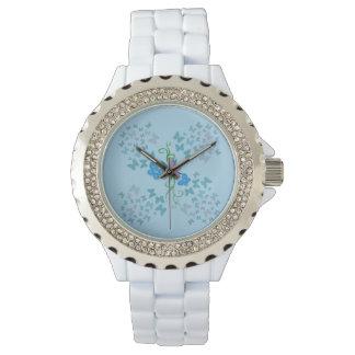 Butterfly Blue Watch