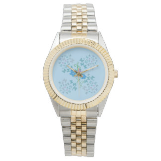 Butterfly Blue Wrist Watches