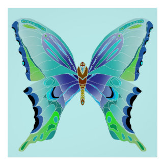 Butterfly Blues Poster