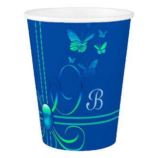 Butterfly Bows 3 Paper Cup