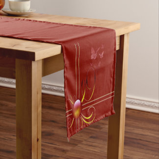 Butterfly Bows 4 Short Table Runner