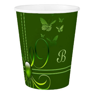 Butterfly Bows Paper Cup
