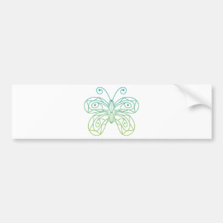 Butterfly Bumper Sticker