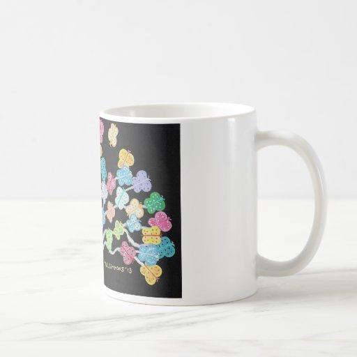 Butterfly Bush Mug