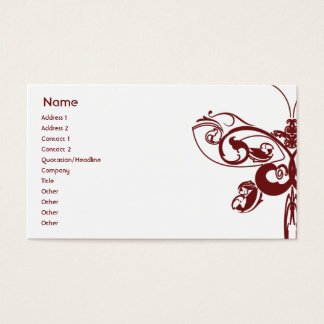 Butterfly - Business Business Card