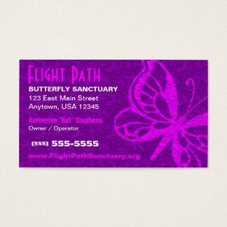Butterfly Business Card - Purple