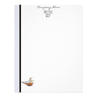 Butterfly Business Letterhead