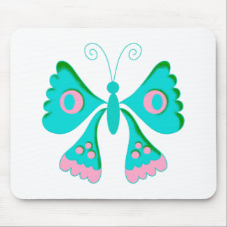 Butterfly Butterflies  Kids Stuff Mouse Pad