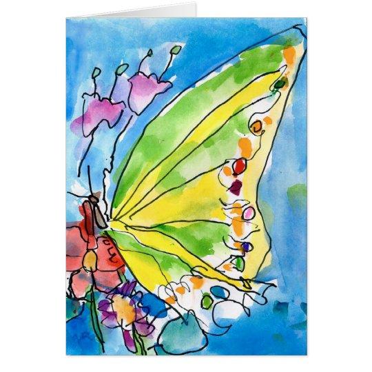 Butterfly by Jeffrey Shutt, Age 6 Card