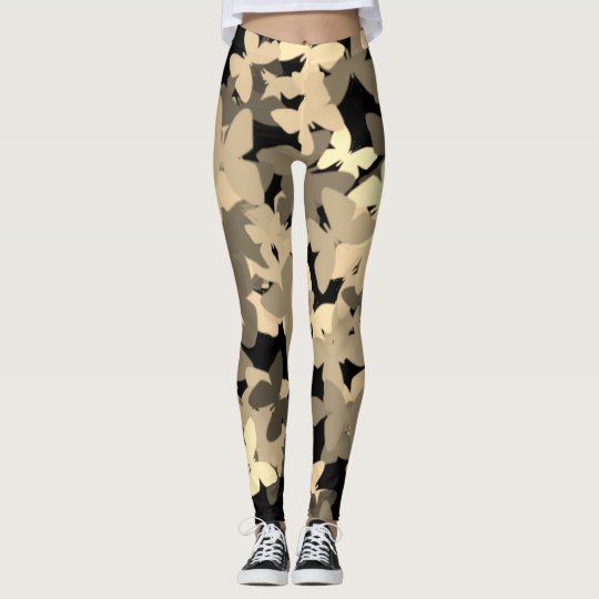 butterfly camo leggings