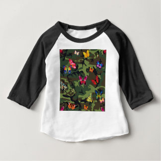 butterfly camouflage baby T-Shirt