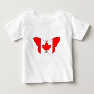 Butterfly Canada Baby T-Shirt