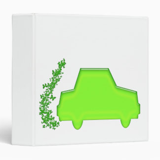 Butterfly Car...The Eco Machine 3 Ring Binder