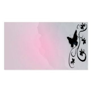 butterfly card business cards