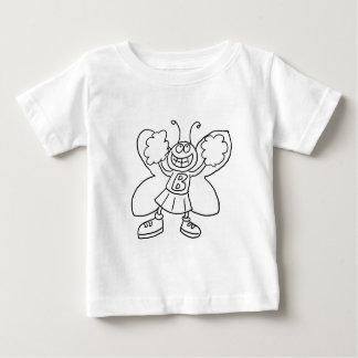 Butterfly Cheerleader Baby T-Shirt