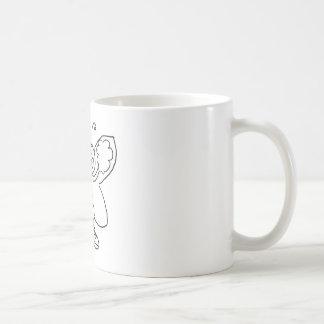 Butterfly Cheerleader Coffee Mug