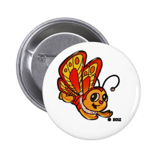 Butterfly Chloe Promotional Items 2 Inch Round Button