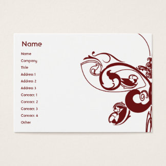 Butterfly - Chubby Business Card