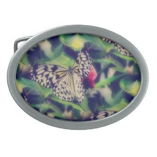 Butterfly Collage Belt Buckle