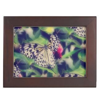 Butterfly Collage Keepsake Box