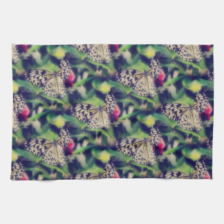 Butterfly Collage Kitchen Towel