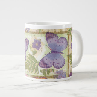Butterfly Collage Large Coffee Mug