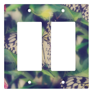 Butterfly Collage Light Switch Cover