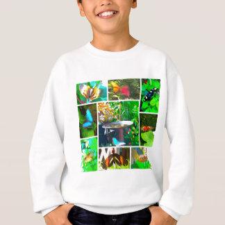 Butterfly Collage Sweatshirt