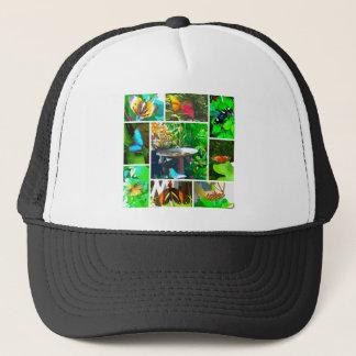 Butterfly Collage Trucker Hat