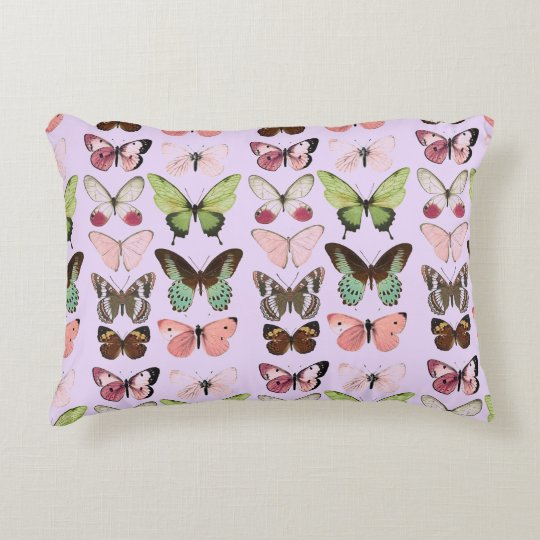 "Butterfly Collection Accent Pillow 16"" x 12"""