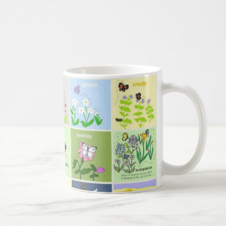 butterfly collection mug #1