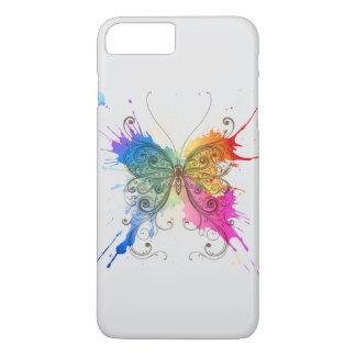 Butterfly Color Splash iPhone 8 Plus/7 Plus Case