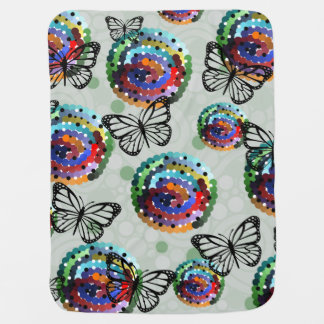 Butterfly Colour Baby Blanket