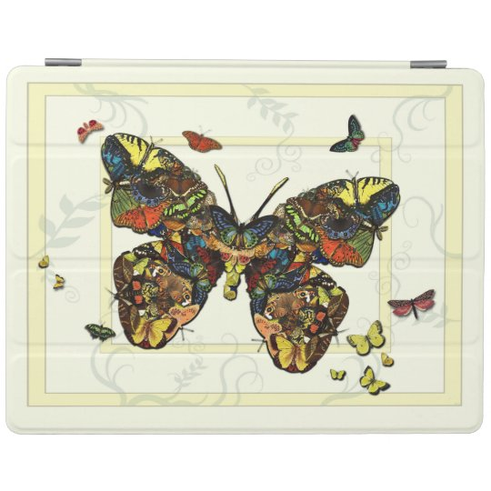 Butterfly Colourful Collage iPad Smartcover iPad Cover