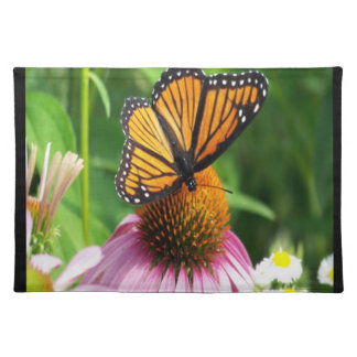 Butterfly  Cone Flower Placemat