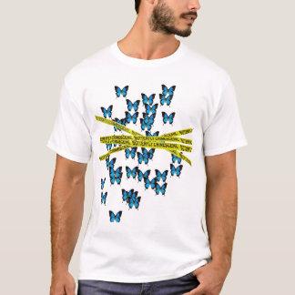 Butterfly Crimescene T-Shirt