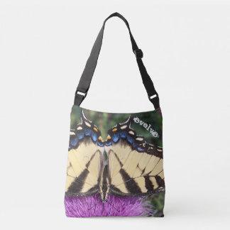 Butterfly cross-body bag