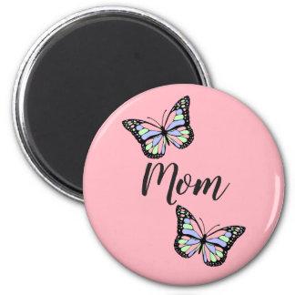 Butterfly Custom Mom Magnet