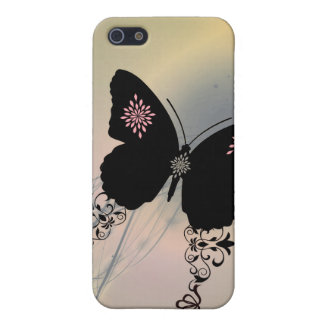 Butterfly Cutie Pie Pink Phone Case iPhone 5 Case