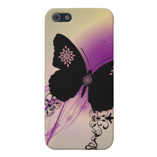 Butterfly Cutie Pie Pink Phone Case iPhone 5 Cases